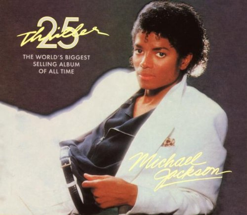 Michael Jackson, Thriller, Piano, Vocal & Guitar (Right-Hand Melody)