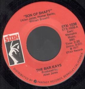 The Bar-Kays, Son Of Shaft, Piano, Vocal & Guitar (Right-Hand Melody)