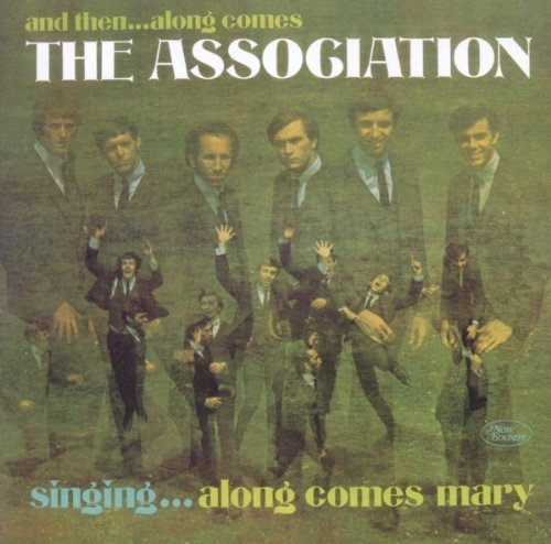 The Association, Along Comes Mary, Piano, Vocal & Guitar (Right-Hand Melody)