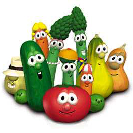 VeggieTales, Larry's High Silk Hat, Piano, Vocal & Guitar (Right-Hand Melody)