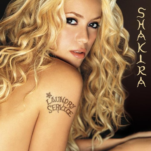 Shakira, Underneath Your Clothes, Piano, Vocal & Guitar (Right-Hand Melody)