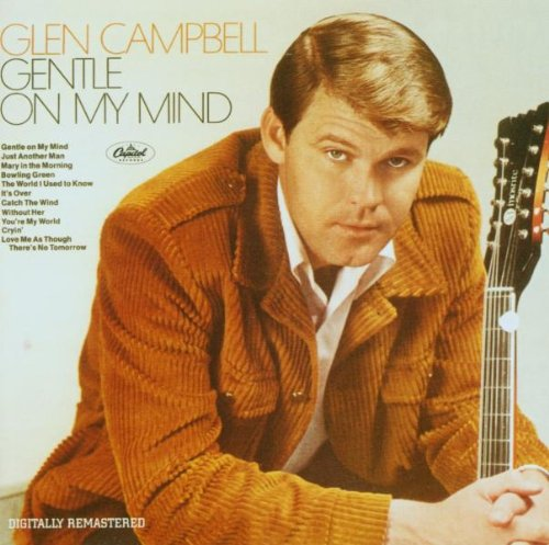 Glen Campbell, Gentle On My Mind, Easy Piano
