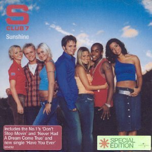 S Club 7, Sunshine, Piano, Vocal & Guitar