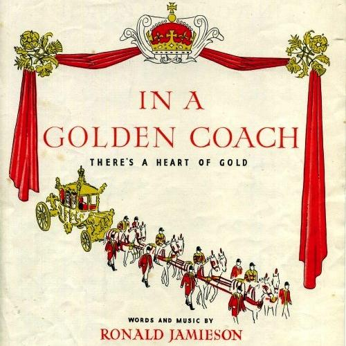 Ronald Jamieson, In A Golden Coach, Piano, Vocal & Guitar (Right-Hand Melody)
