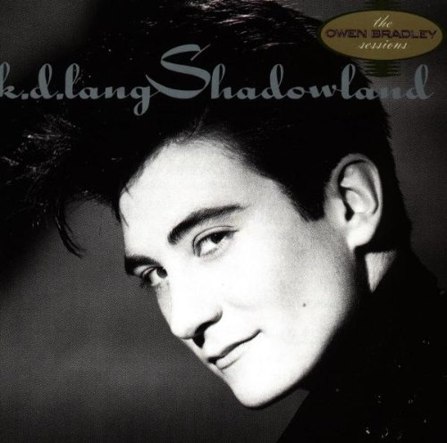 k.d. lang, Shadowland, Piano, Vocal & Guitar (Right-Hand Melody)