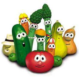 VeggieTales, The Dance Of The Cucumber, Piano (Big Notes)