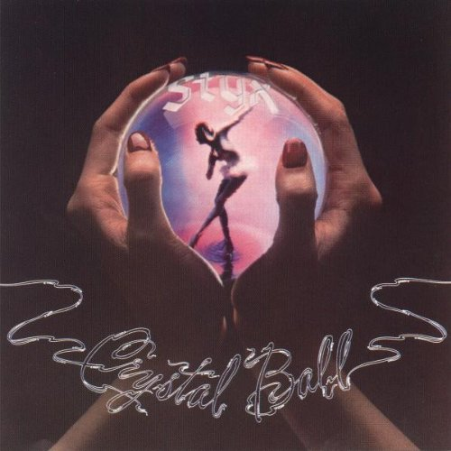 Styx, Crystal Ball, Piano, Vocal & Guitar (Right-Hand Melody)