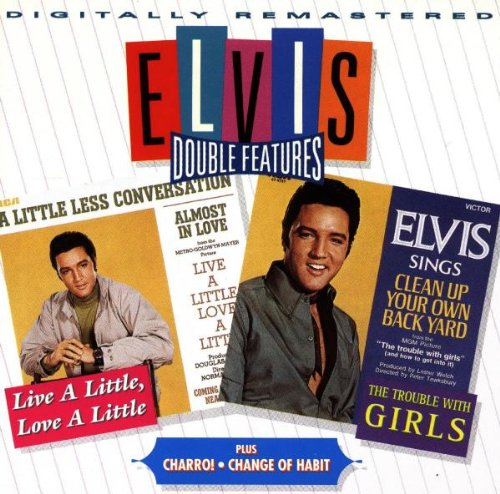 Elvis Presley, A Little Less Conversation, Piano, Vocal & Guitar (Right-Hand Melody)