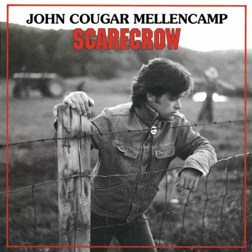 John Mellencamp, Lonely Ol' Night, Piano, Vocal & Guitar (Right-Hand Melody)