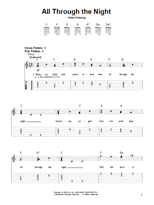 Welsh Folksong \