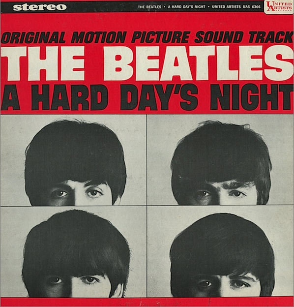 The Beatles, A Hard Day's Night, Bass Guitar Tab