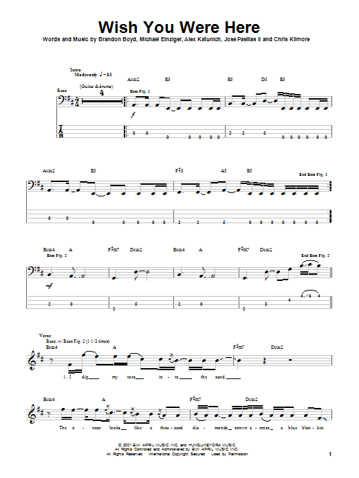 Awesome Wish You Were Here Chords Piano Motif - Song Chords Images ...