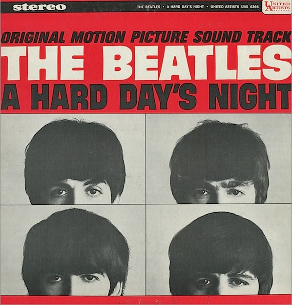 The Beatles, A Hard Day's Night, Piano, Vocal & Guitar (Right-Hand Melody)