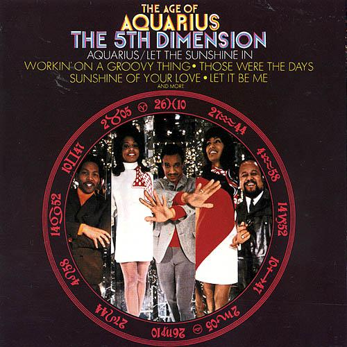 The Fifth Dimension, Aquarius, Piano, Vocal & Guitar (Right-Hand Melody)
