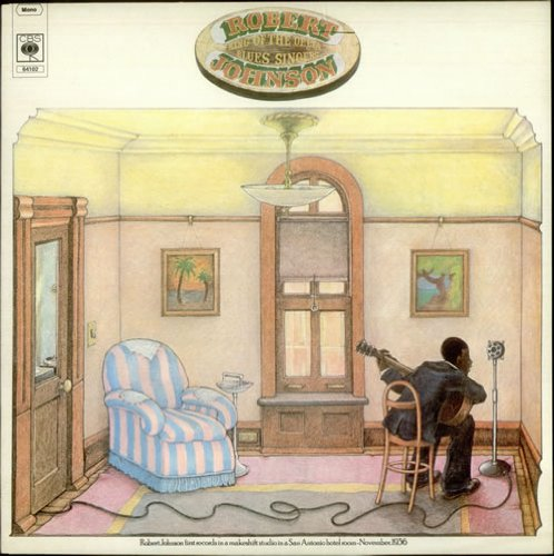 Robert Johnson, Phonograph Blues, Piano, Vocal & Guitar (Right-Hand Melody)