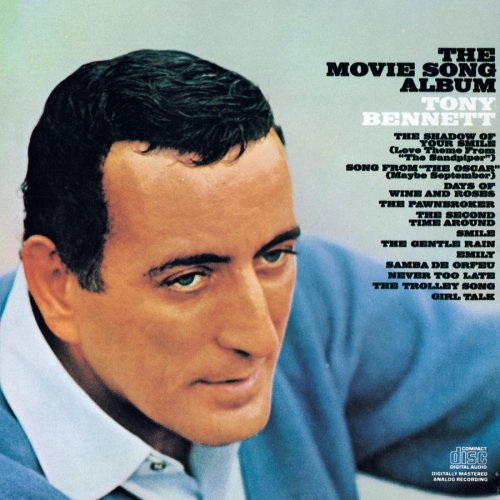 Tony Bennett, The Shadow Of Your Smile, Piano, Vocal & Guitar (Right-Hand Melody)