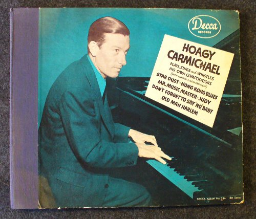 Hoagy Carmichael, Sleepy Time Gal, Piano, Vocal & Guitar (Right-Hand Melody)