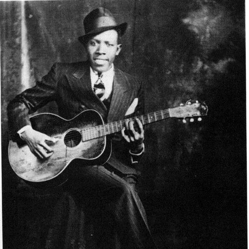Robert Johnson, Honeymoon Blues, Piano, Vocal & Guitar (Right-Hand Melody)