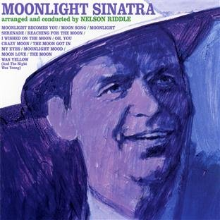 Frank Sinatra, Moonlight Serenade, Piano, Vocal & Guitar (Right-Hand Melody)