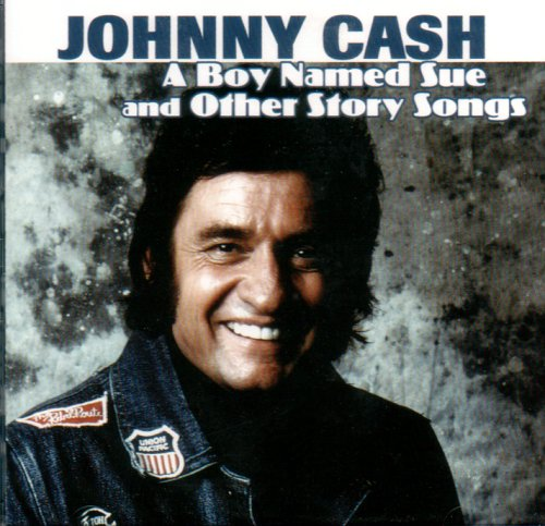 Johnny Cash, A Boy Named Sue, Piano, Vocal & Guitar (Right-Hand Melody)