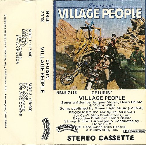 Village People, Y.M.C.A., Piano, Vocal & Guitar (Right-Hand Melody)