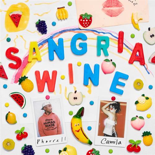 Camila Cabello and Pharrell Williams, Sangria Wine, Piano, Vocal & Guitar (Right-Hand Melody)