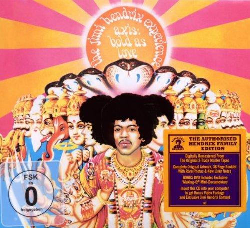 Jimi Hendrix, Bold As Love, Melody Line, Lyrics & Chords