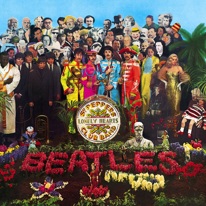 The Beatles, Sgt. Pepper's Lonely Hearts Club Band, Piano, Vocal & Guitar (Right-Hand Melody)
