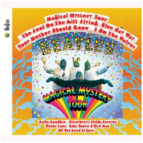 The Beatles, Magical Mystery Tour, Piano, Vocal & Guitar (Right-Hand Melody)