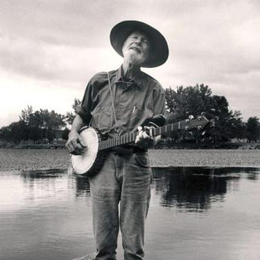Pete Seeger, Skip To My Lou, Piano, Vocal & Guitar (Right-Hand Melody)