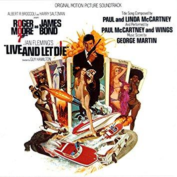Paul McCartney & Wings, Live And Let Die (theme from the James Bond film), Piano, Vocal & Guitar (Right-Hand Melody)