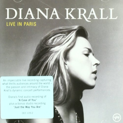 Diana Krall, Just The Way You Are, Melody Line, Lyrics & Chords