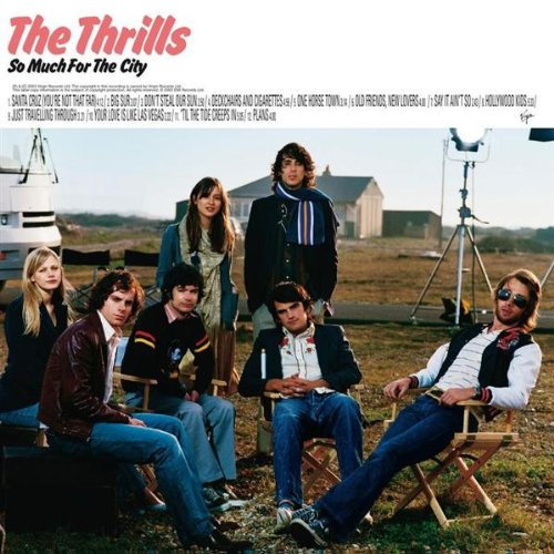 The Thrills, Santa Cruz (You're Not That Far), Melody Line, Lyrics & Chords