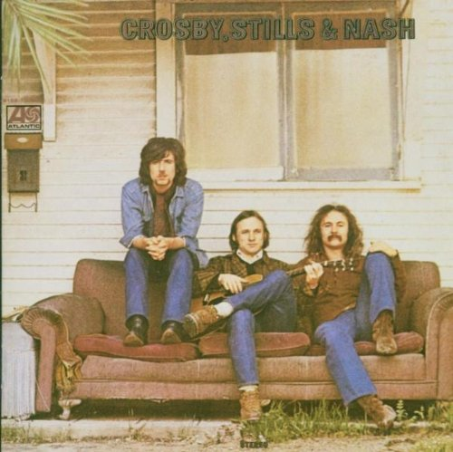Crosby, Stills & Nash, Guinnevere, Piano, Vocal & Guitar (Right-Hand Melody)