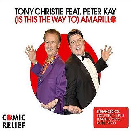 Tony Christie, (Is This The Way To) Amarillo (feat. Peter Kay), Piano, Vocal & Guitar (Right-Hand Melody)