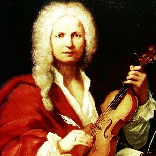 Antonio Vivaldi, Concerto in D major for 2 Violins and Lute (1st Movement), Piano