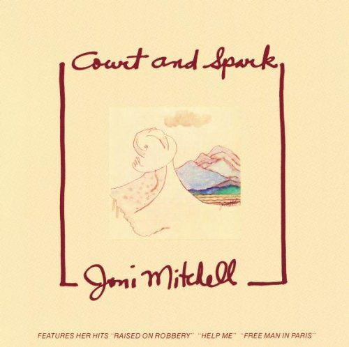 Joni Mitchell, Court And Spark, Piano, Vocal & Guitar