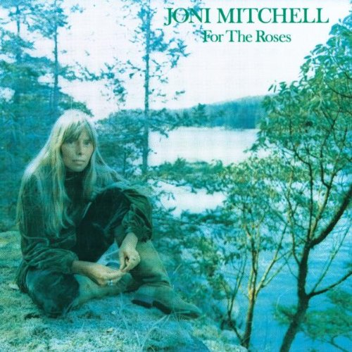 Joni Mitchell, For The Roses, Piano, Vocal & Guitar (Right-Hand Melody)
