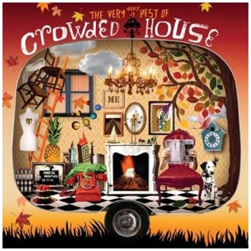 Crowded House, Don't Dream It's Over, Melody Line, Lyrics & Chords