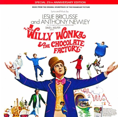 Leslie Bricusse, The Candy Man (from Willy Wonka And The Chocolate Factory), Beginner Piano