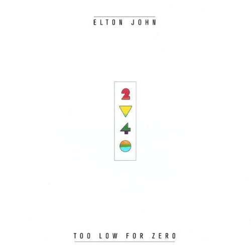 Elton John, I Guess That's Why They Call It The Blues, Piano, Vocal & Guitar