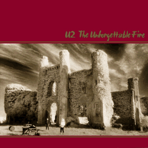 U2, The Unforgettable Fire, Piano, Vocal & Guitar (Right-Hand Melody)