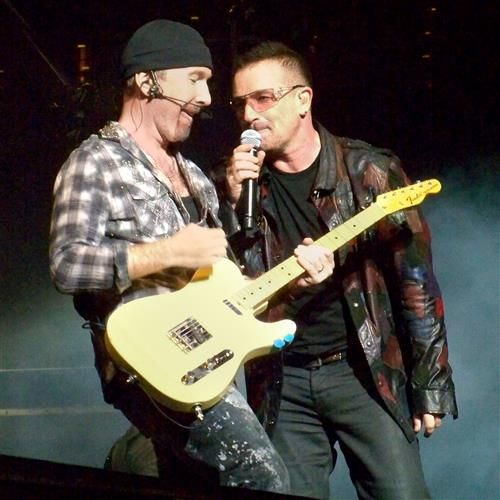 U2, Sweetest Thing, Piano, Vocal & Guitar (Right-Hand Melody)