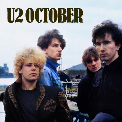 U2, October, Piano, Vocal & Guitar (Right-Hand Melody)