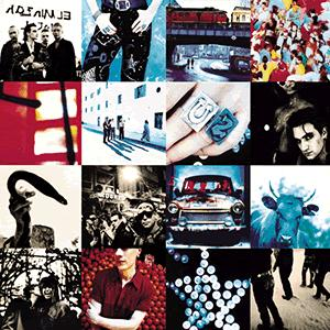 U2, Love Is Blindness, Piano, Vocal & Guitar (Right-Hand Melody)
