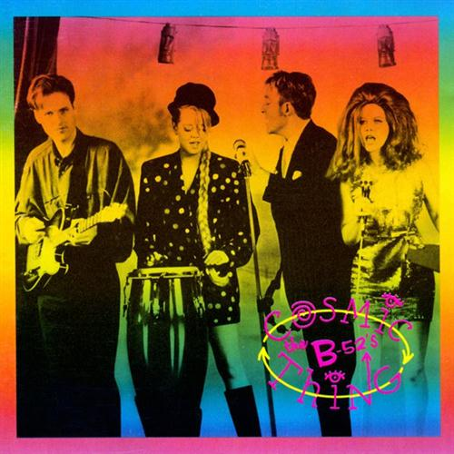 The B-52's, Love Shack, Piano, Vocal & Guitar (Right-Hand Melody)