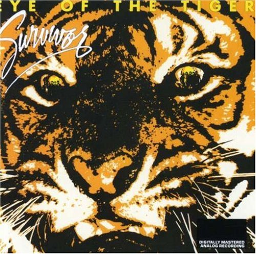 Survivor, Eye Of The Tiger, Piano, Vocal & Guitar (Right-Hand Melody)