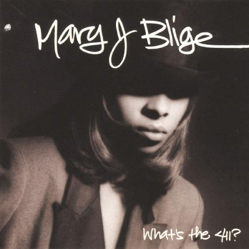 Mary J. Blige, Real Love, Piano, Vocal & Guitar