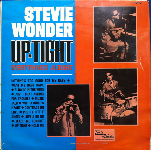 Stevie Wonder, Uptight (Everything's Alright), Piano, Vocal & Guitar (Right-Hand Melody)