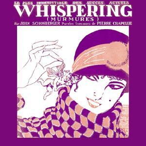 Richard Coburn, Whispering, Piano, Vocal & Guitar (Right-Hand Melody)